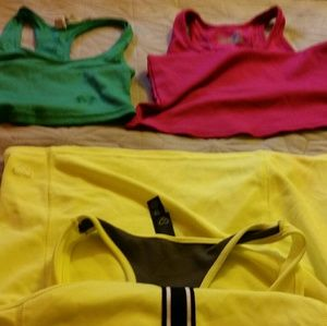 Tops - Assorted workout shirts